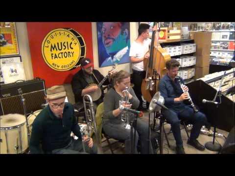 Shotgun Jazz Band @ Louisiana Music Factory 1st Anniversary on Frenchmen 2015