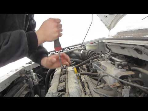 How To: Change Plugs 2005 Suzuki Aerio
