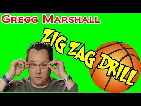 Zig Zag Defensive Drill for Basketball with Gregg Marshall