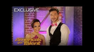 Dancers Quin and Misha Relive Their AGT Audition   America's Got Talent 2018