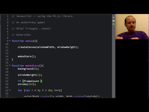 Asteroids in JavaScript: tutorial_1