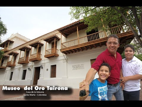 Visitando el Museo del Oro Tairona en Santa Marta, Colombia #UnDomingoConRafa