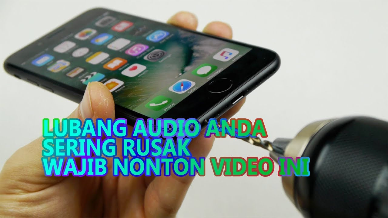 Cara Mudah Membersihkan Lubang Headset I Info Tech I Bahasa Indonesia Youtube