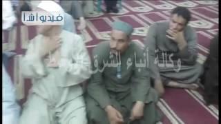 بالفيديو الاحتفال برؤية هلال شهر رمضان المبارك بالفيوم
