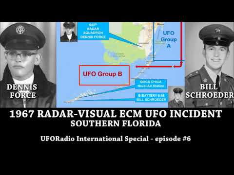 UFORadio-International Special ep #6: 1967 Radar-Visual ECM UFO Incident  above Southern Florida