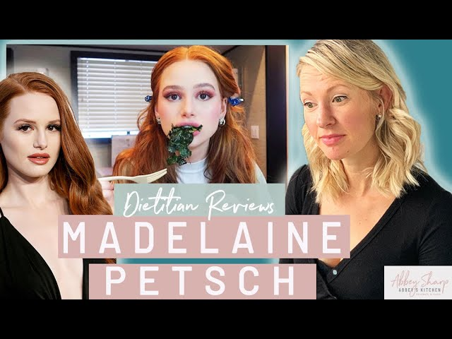 Dietitian Reviews MADELAINE PETSCH Vegan What I Eat In A Day