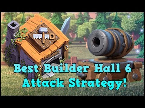 Best Builder Hall 5/6 Attack Strategy! |Clash Of Clans