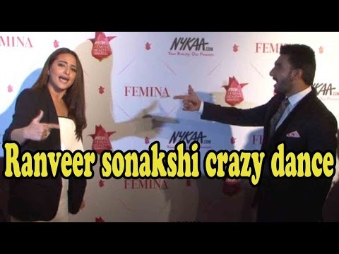 Ranveer Singh Goes Insane With Sonakshi Sinha At Awards!
