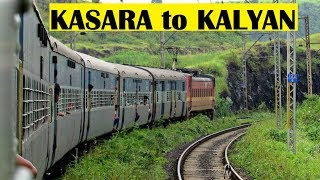 KASARA to KALYAN - Station Skips || RAINY SEASON - Indian Railways !!