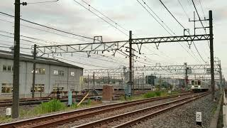 東武8000型8561F 臨時回送 春日部支所発車
