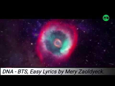 BTS - DNA (Easy Lyrics/Letra fácil)