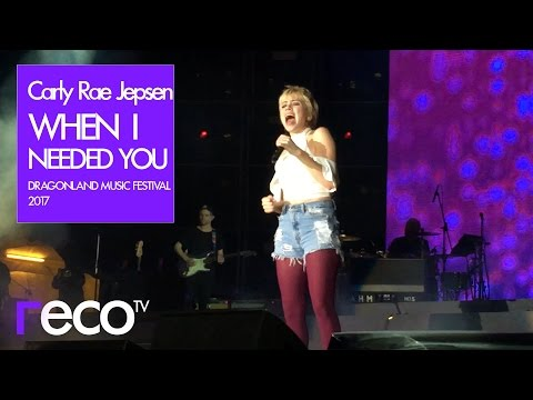 Carly Rae Jepsen - When I Needed You (Live in Hong Kong at Dragonland Music Festival 2017) [1080p60]