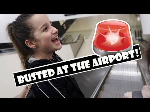 Busted At The Airport 🚨 (WK 372.4) | Bratayley