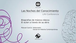Biografías de música clásica. El autor a través de su obra.   Manuel García   Mensa España