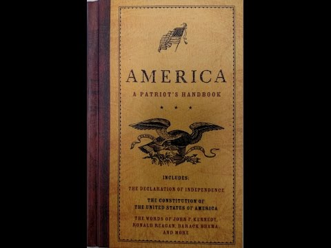 Book Review--America a Patriots Handbook