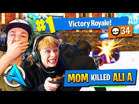 ALI-A TEACHES ME FORTNITE!! [NOOB to PRO] Fortnite Battle Royale w/Ali A