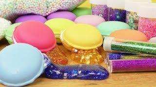 NEUER DIY Slime | 12x Macaron Mix Set für eigenen Schleim | Tolle Party Idee für Kids