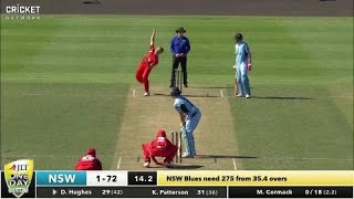 South Australia v New South Wales - JLT Cup 2017