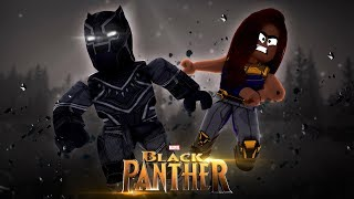 ROBLOX - BLACK PANTHER & SHURI IN 2 PLAYER SUPERHERO TYCOON!!