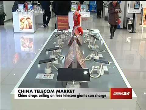 China drops ceiling on fees telecom giants can charge