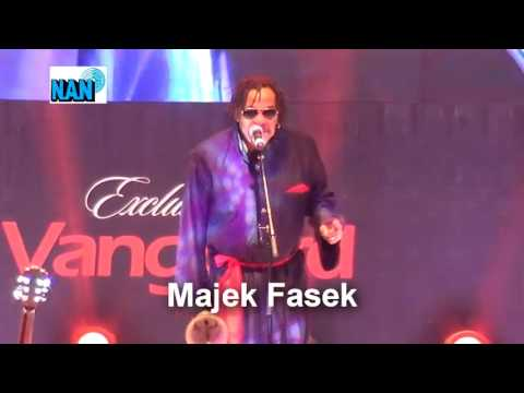 Wow! performance by Majek Fashek at Vanguard Awards