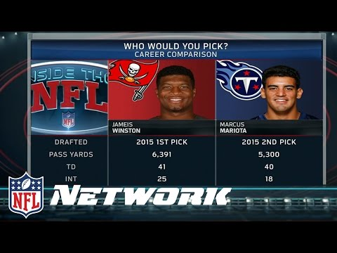 Marucs Mariota or Jameis Winston: Who is Better So Far? | Inside the NFL