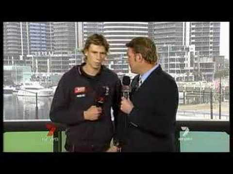 Re: AFL player collapses on Australian TV