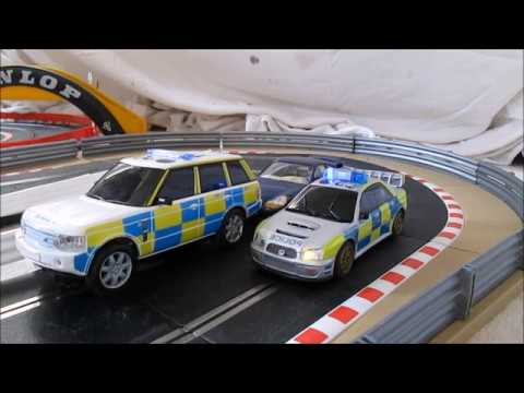 Scalextric Movie – Police Interceptors