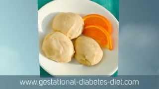 Orange Juice Cookies - Gestational Diabetes Recipe