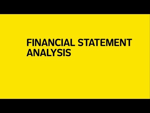 Financial Statement Analysis by Kevin Wall | Universidad de Monterrey