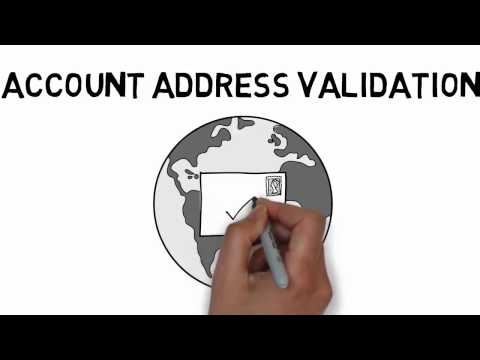 Address Validation for Accounts
