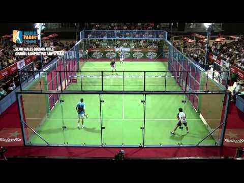 Semifinal Buenos Aires International Open  Lamperti   Grabiel vs Sanyo   Maxi