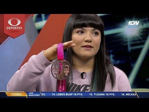 'Las críticas no afectaron mi sueño': Alexa Moreno | Televisa Deportes