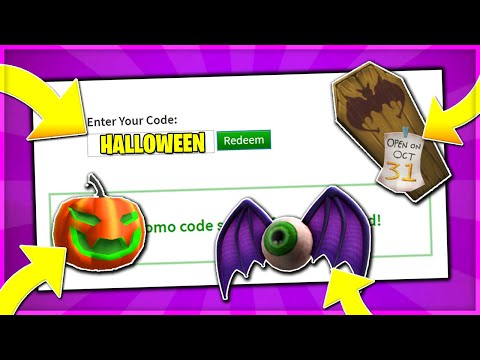 *OCTOBER* ROBLOX HALLOWEEN PROMO CODE GIFT! Coffin Wait Lapel Pin FREE (ROBLOX)