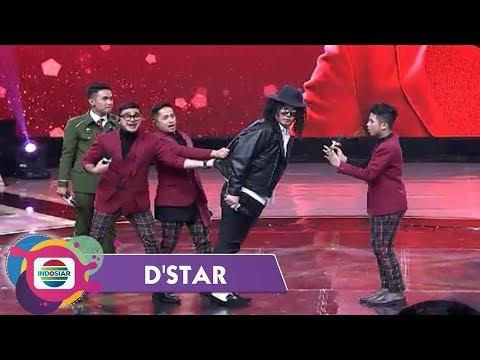 Semua Terkejut!! Michael Jackson Datang Ajarin Moonwalk di Panggung D'STAR