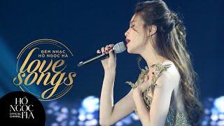 Lặng Thầm Một Tình Yêu - Hồ Ngọc Hà | Đêm Nhạc Love Songs (Official)