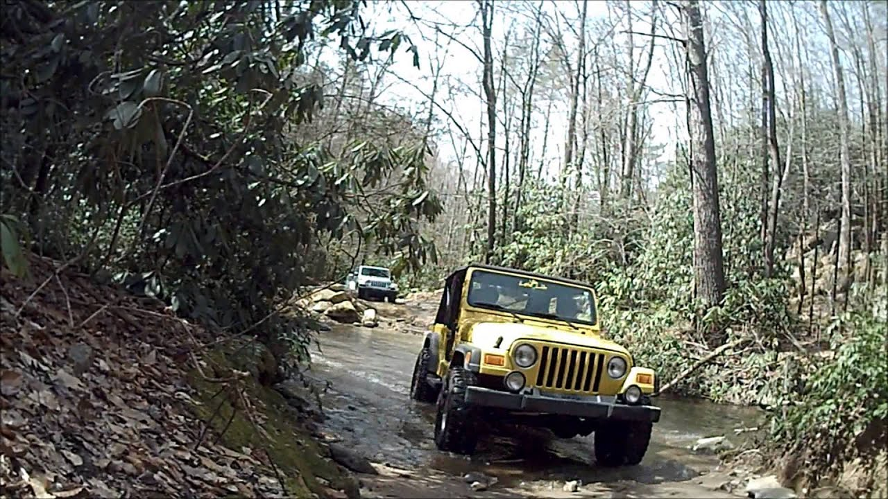 Mud and Rock Crawling at Uwharrie National Forest - YouTube