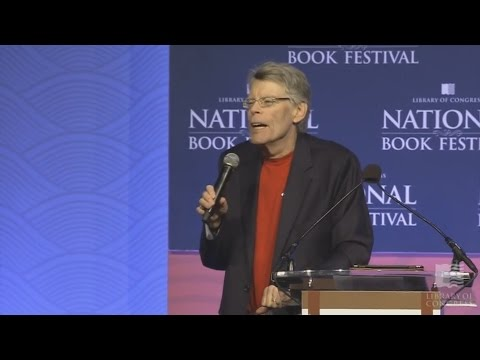 Stephen King at Library of Congres National Book Festival 2016