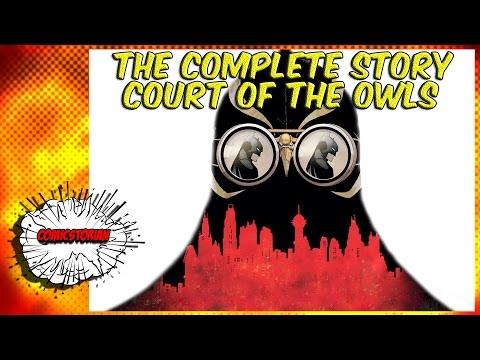 Batman Court of Owls - Complete Story