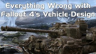 Everything Wrong with Fallout 4's Vehicle Design
