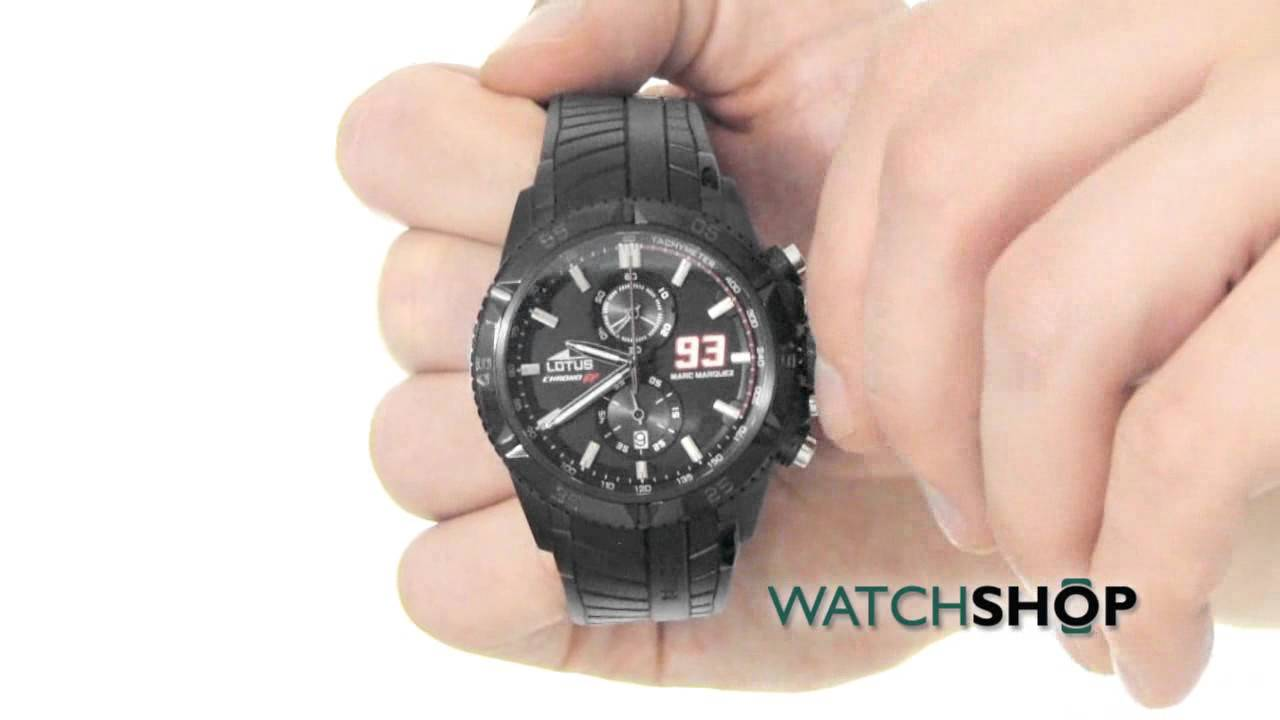 a166a122ff56 Lotus Men s Marc Marquez Chrono GP Special Edition Chronograph Watch  (L18104 1)