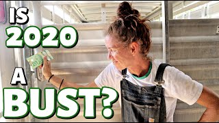 WEIGHING & SHIPPING MARKET LAMBS!  (How is our lamb market so far in 2020?):  Vlog 301