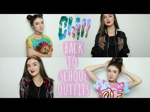 BACK TO SCHOOL OUTFIT + HAIR IDEAS 2017-18