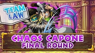 [OPTC Coliseum] Capone Chaos - FINAL ROUND - Bege - Team Law