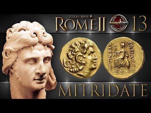 Total War: Rome II | #13 Mitridate: Re Di Ponto E Cappadocia [DeI Mod HD ITA]