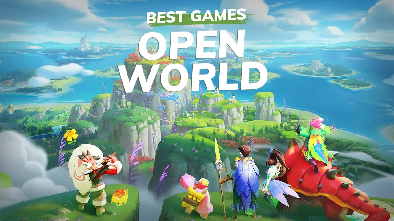 Top 15 Open World Games with Great Graphics for iOS and Android