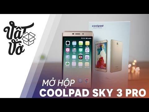 Vật Vờ| Smartphone 4 triệu, 3GB RAM, Selfie đẹp: Coolpad Sky 3 Pro