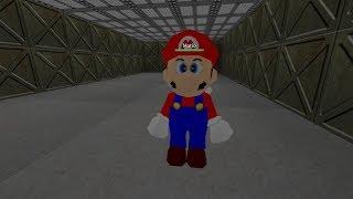 Roblox y Mario Luigi Area 51