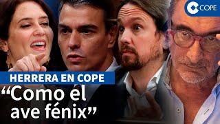 """Herrera en COPE: """"El éxito de Ayuso pasa por la reunificación de la derecha"""""""