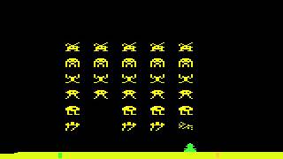 Atari 2600 Longplay [015] Space Invaders